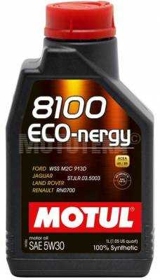 Масло моторное MOTUL (Мотюль) Eco-nergy 8100 5W30 (5л)