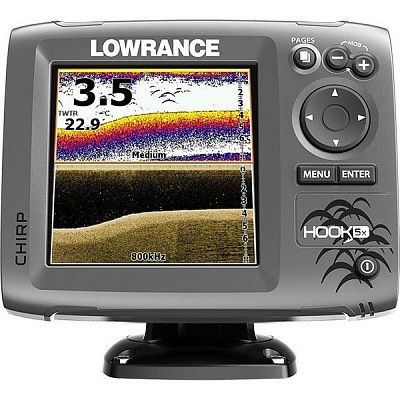 Эхолот Lowrance (Лоуренс) Hook-5x Mid/High/DownScan